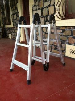 COMPACT FOLDAWAY A FRAME  4 m TALL ALUMINIUM LADDER  Alberton Port Adelaide Area Preview