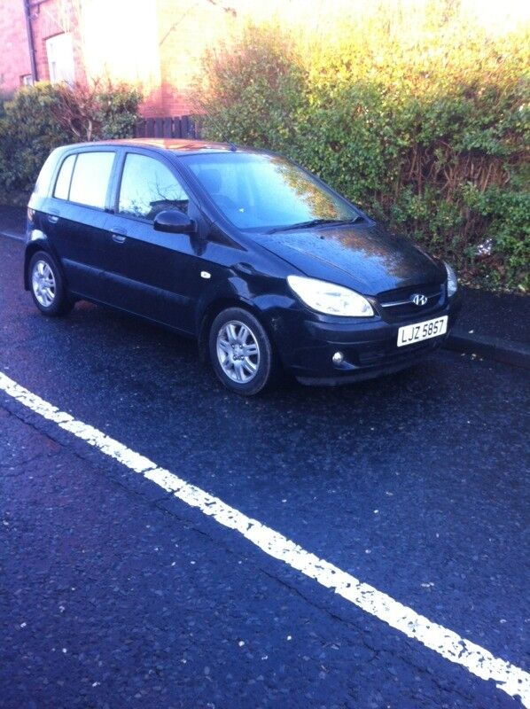 2007 Hyundai Getz 1.4 CDX 68000 miles mot May drives as new slight damage £725