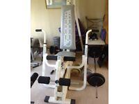 Weider home stack weights multi gym