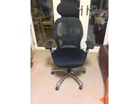 Mesh manager office chair