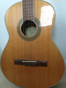 Ibanez acoustic classical guitar - BEAUTIFUL sound.