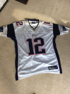 Tom Brady New England patriots jersey