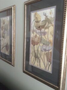 """SET OF 2 PICTURES, EXCELLENT CONDITION. 23"""" X 36"""