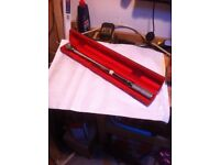 """Snap on torque wrench 1/2"""" half inch drive"""