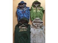 4 Abercrombie & Fitch Hoodies. Immaculate Condition!!!!
