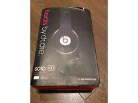 Dr Dre Headphones (Black) Solo HD