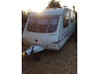 2004 Swift Archway 4 Berth caravan ,motor mover 2x Awings excellent thought out