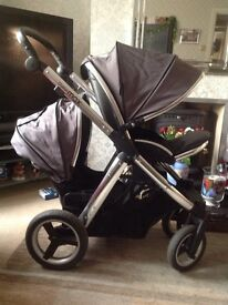 Oystermax twin buggy