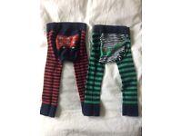 JoJo Maman Bebe trousers / leggings / tights / crawlers 6-12 months