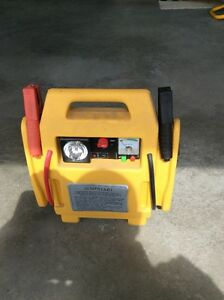 Power pack with battery charger and air compressor and light $30