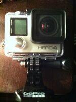 GO PRO HERO 4 SILVER with remote!