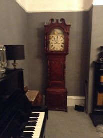 Antique quality working grandfather clock