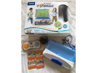Vtech v-motion game with 4 games £10
