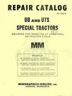 Minneapolis Moline Ub Uts Repair Manual