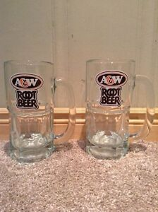 pair of A&W Root Beer Mugs (large) --NEW PRICE Kitchener / Waterloo Kitchener Area image 1