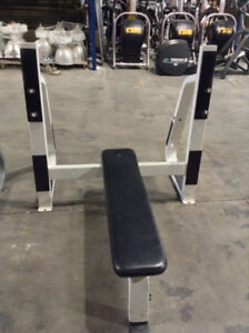 Commercial Gym Equipment - Nautilus Bench Press