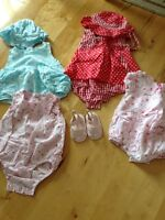 Lot de vêtements fille 3-9 mois