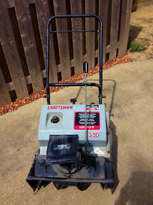 Electric Start Gas snow blower
