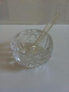 Miniature Glass Garnish Dish Kitchener / Waterloo Kitchener Area image 1