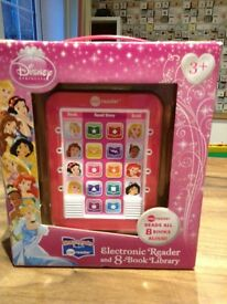 Disney Princess electronic reader, 8 books