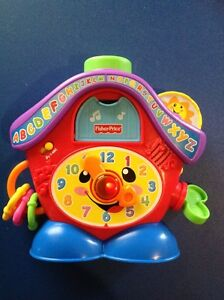 Fisher Price Cuckoo Count and Sing Clock