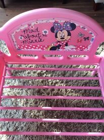 Minnie Mouse pink Toddler Bed