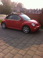 2003 Volkswagen New Beetle Convertible ! only 108,000kms !