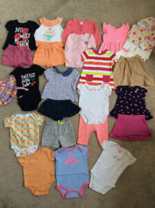 Baby Girl Summer Clothes Lot 3-6 Months