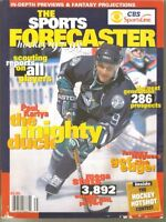 1990'S hockey magazines/books: McKeens, The Sports Forecaster