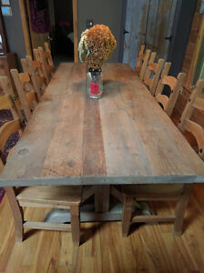 Harvest Dining Table and Chair Set
