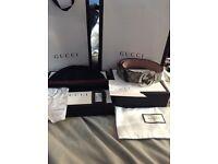 Gucci hat & belt