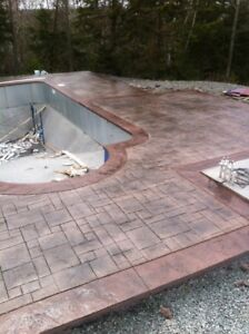 Stamped Concrete- Pool Decks-Patios and More