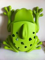 Boon frog- bath toy and supply holder $10