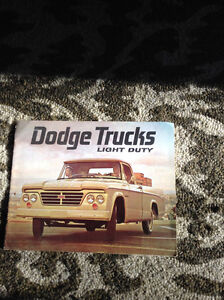 1964 Dodge Trucks sales Brochure