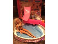 Barbie doll set