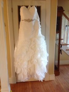 Wedding dress size 22 never worn or altered