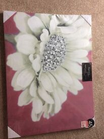 FREE Flower Hand Painted Canvas