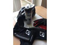 CYCLE ACCESSORIES helmet gloves etc.