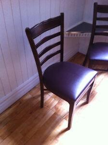 Magnifique chaises de 1ère qualité