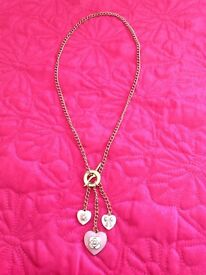 Necklace with Enamel Charms