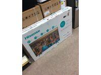 """HISENSE NEW BOXED 43"""" SMART 4K TV BARGAIN"""