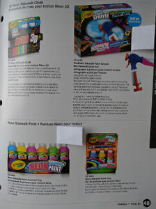 Crayola products available