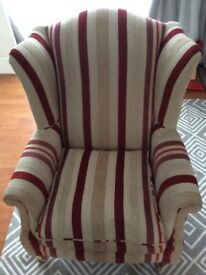 Laura Ashley Southwold Fabric Wing Chair