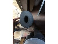 Approx 7 m x 1 m brand new grey roofing felt.