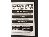 Dance classes MARJORY.R.MARTIN SCHOOL OF DANCE