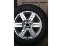 """Complete tyre and wheel for Landrover freelander 17"""""""