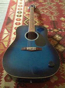 Tradition Acoustic Guitar Blue Sunburst