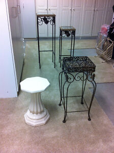 Decorator Tables or Plant Stands