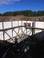 COMMERCIAL AND RESIDENTIAL ICF FOUNDATIONS, CONCRETE FLATWORK