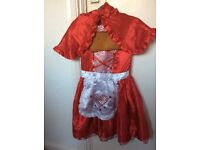 Girl's Red Riding Hood Fancy Dress